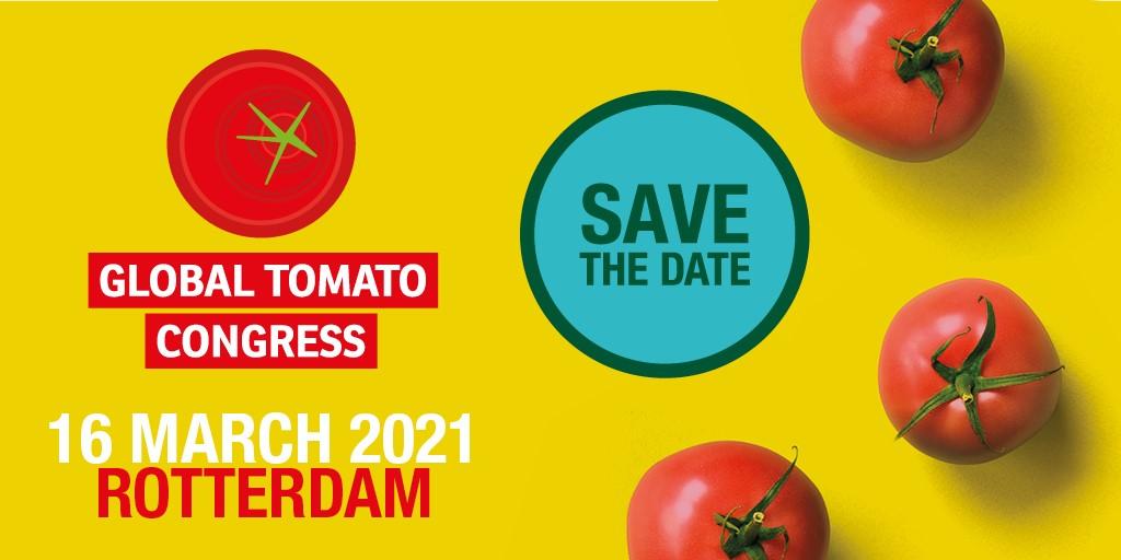 المؤتمر العالمي للطماطم يعود في 16 مارس 2021